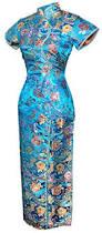 amazon com 7fairy women u0027s vtg turquoise ten buttons long chinese