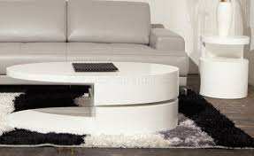 ergo coffee table by beverly hills in white high gloss w options