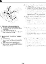 drive belt user manuals