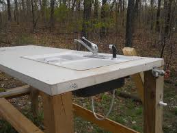 Garden Sink Ideas Building A Potting Table Gettingfreedom Net We Positioned Our In