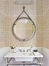 Wallpapered Bathrooms Ideas 438 Best Wall Covering Images On Pinterest Fabric Wallpaper