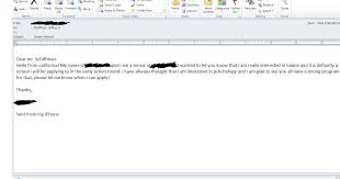 five e mails you should never send tulane university admission