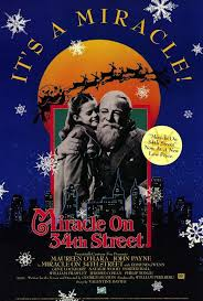 miracle on 34th street 27x40 movie poster 1947 34 street john