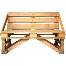 panchine legno panchina in legno riciclato pallet bancale