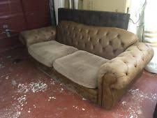 Leather Suede Sofa Faux Leather Suede Sofas Ebay