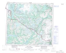 printable topographic map of iskut river 104b bc
