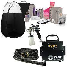 Mediterranean Spray Tan Solution Fuji 2100 Mini Spray Tan Deluxe Business Kit