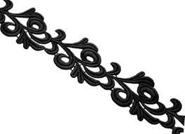 black lace ribbon lace ribbon black uk