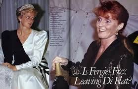 the beginnings of a royal catfight princess diana and sarah