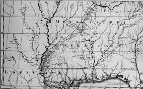 Map Of Ms State Of Mississippi Ancestral Trackers Maps
