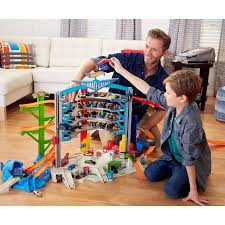 Plan Toys City Series Parking Garage Review by Wheels Ultimate Garage Walmart Com Christmas Gifts