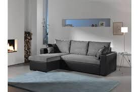 canapé d angle noir et gris canapé d angle bestmobilier orlando canapé d angle convertible