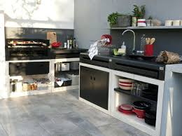 plan cuisine exterieure d ete plan cuisine exterieure d ete cuisine exterieur noir blanc leroy