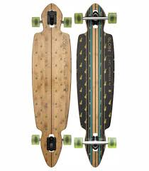 globe longboard skateboard complete pinner drop through bamboo