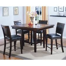 cheap counter height table fulton 5 piece counter height set with lazy susan nebraska