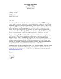sample cover letter for mechanical engineering internship choice