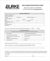 Registration Form Template Excel Vendor Registration Form Tablefloorlayoutmap