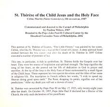 Chaplet Of The Holy Face Martin Sisters Sister Genevieve Of The Holy Face Marie Celine