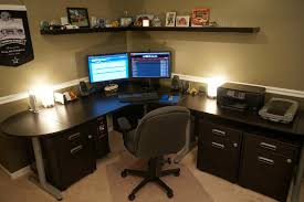 Gaming Desk Setup Computer Desks With Hutch For Home Office Brubaker Desk Ideas