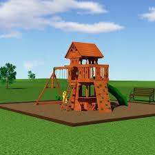 Big Backyard Replacement Parts Backyard Discovery Woodland All Cedar Swing Set U0026 Reviews Wayfair