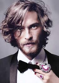 long wavy hairs men haircuts for men