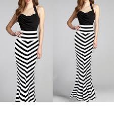 women s skirts skirts black white striped zebra effect