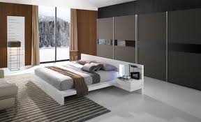 Contemporary Bedroom Furniture High Quality Modern White Lacquer Bed