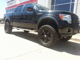 ford lifted tdy sales 31 988 00 2010 ford f150 black fx4 lifted truck 55k