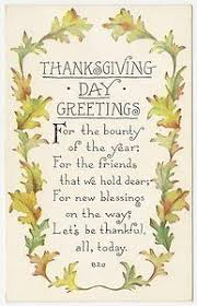 vintage thanksgiving blessings festival collections