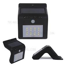Security Light Solar Powered - waterproof 16 led light solar powered lamp outdoor security light