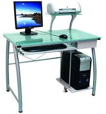 Glass Top Computer Desks For Home Ikea Glass Computer Desk Large Computer Desk For Sale White Glass