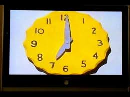 play school flower clock