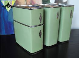 28 vintage metal kitchen canister sets vintage west bend metal