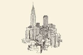 new york city skyline illustrations creative market