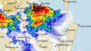 bureau of metereology brisbane supercell that hit brisbane explained by