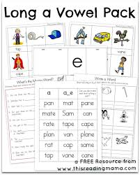 free long a vowel pack this reading mama jpg