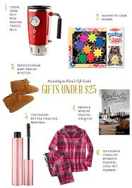 gift guide 25 according to