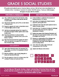 grade 5 social studies checklist homeschool pinterest social