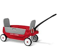 wagon baby radio flyer grandstand 3 in 1 wagon toys