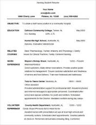 Resume Template Student by Best Ideas Of Resume Template For Student 13 Student Resume