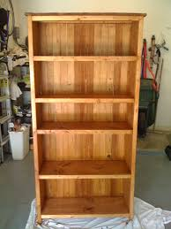 Wood Bookshelves Designs by Free Bookcase Plans Bookcases Baking