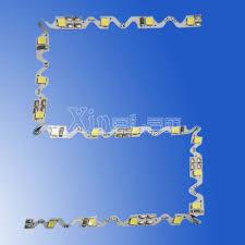 s shape flexible strip 2835 smd led strip light s shape bendable