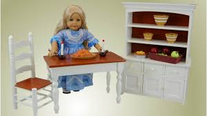 farmhouse collection farm table u0026 chairs for american doll