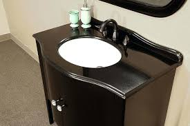32 Bathroom Vanity Black Bathroom Vanity With Sinkvanity Home Black Bath Sink Black