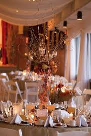 Tree Branch Centerpiece by Fun Fall Wedding Centerpiece Elegant Tree Branches With Candles