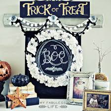 Halloween Wooden Decorations Cool Home Decorating Ideas For Halloween Party U2013 Sparkling Silver
