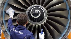 rolls royce jet engine rolls royce emirates order u0027will secure jobs across uk u0027 itv news