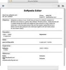 Best Resume Programs by Best Resume Program Mac Resume Software For Mac Free Downloads And