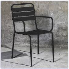 Black Metal Patio Chairs Folding Metal Patio Chairs Sg2015