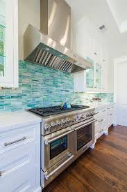 Kitchen Distressed Turquoise Kitchen Cabinets Home Design Ideas A House In Manhattan Beach That Loves The Blues Turquoise Tile